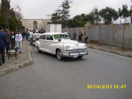 sultan ahmet nostaljik arabalar
