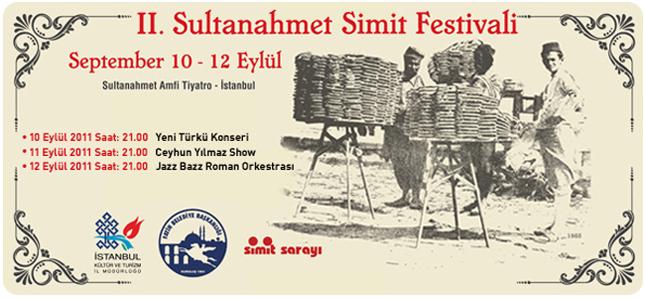 2. Sultanahmet Simit Festivali bugün